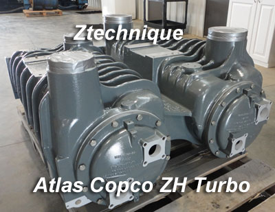 Atlas Copco ZH Coolers Overhauled or replaced