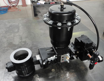 NON OEM New and Refurbished Actuator assemblies for Atlas Copco ZH Turbo Compressors