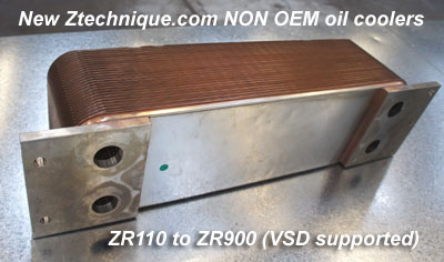 NEW NON OEM Replacement Oil Cooler for ZA ZR ZE range